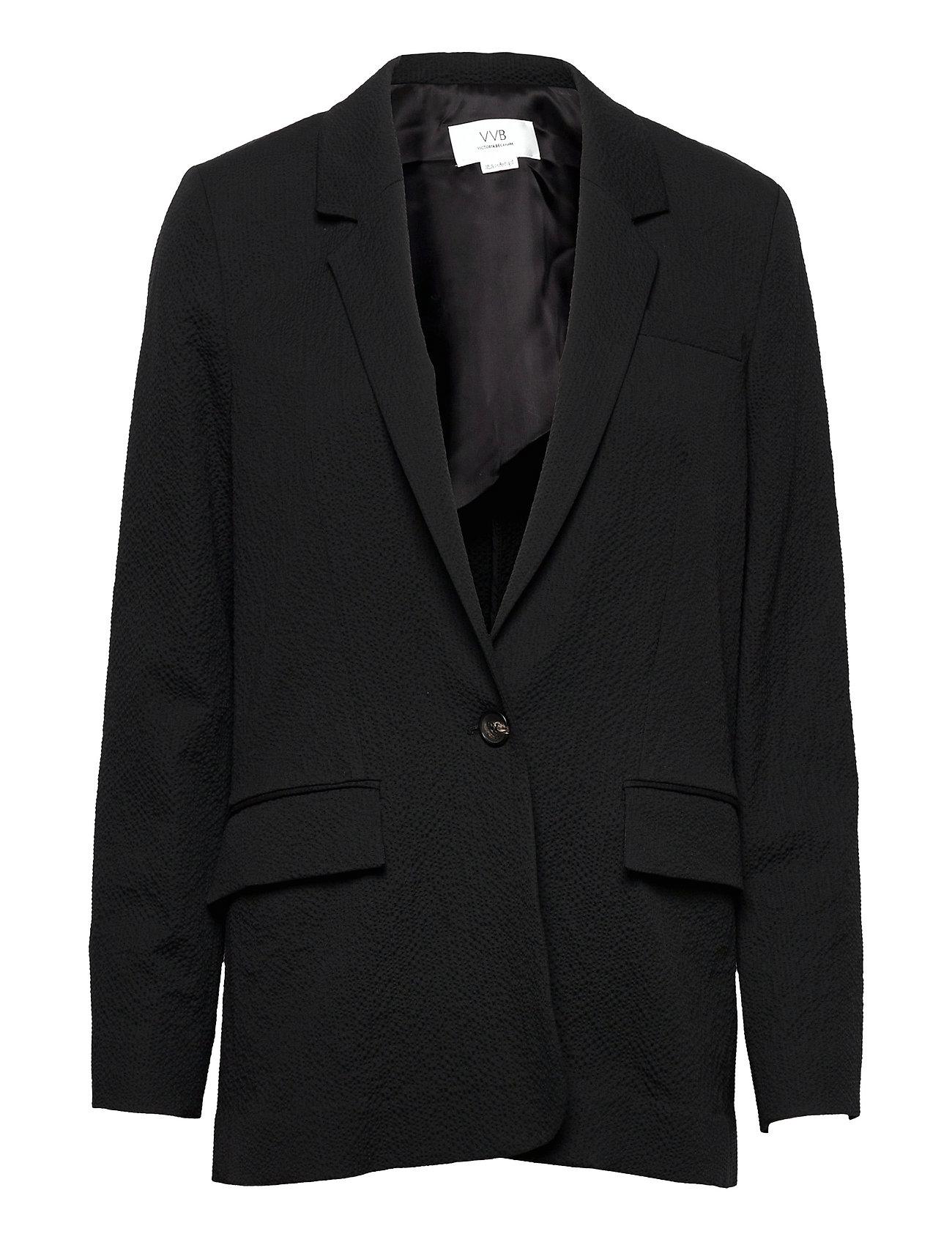 Relaxed Jacket Blazers Over D Blazers Sort Victoria Victoria Beckham