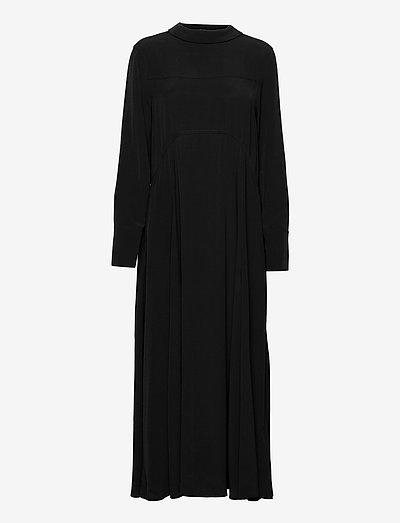 LONG SLEEVE MAXI DRESS - evening dresses - black