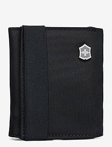 Travel Accessories 5.0, Tri-Fold Wallet with RFID Protection - travel accessories - black