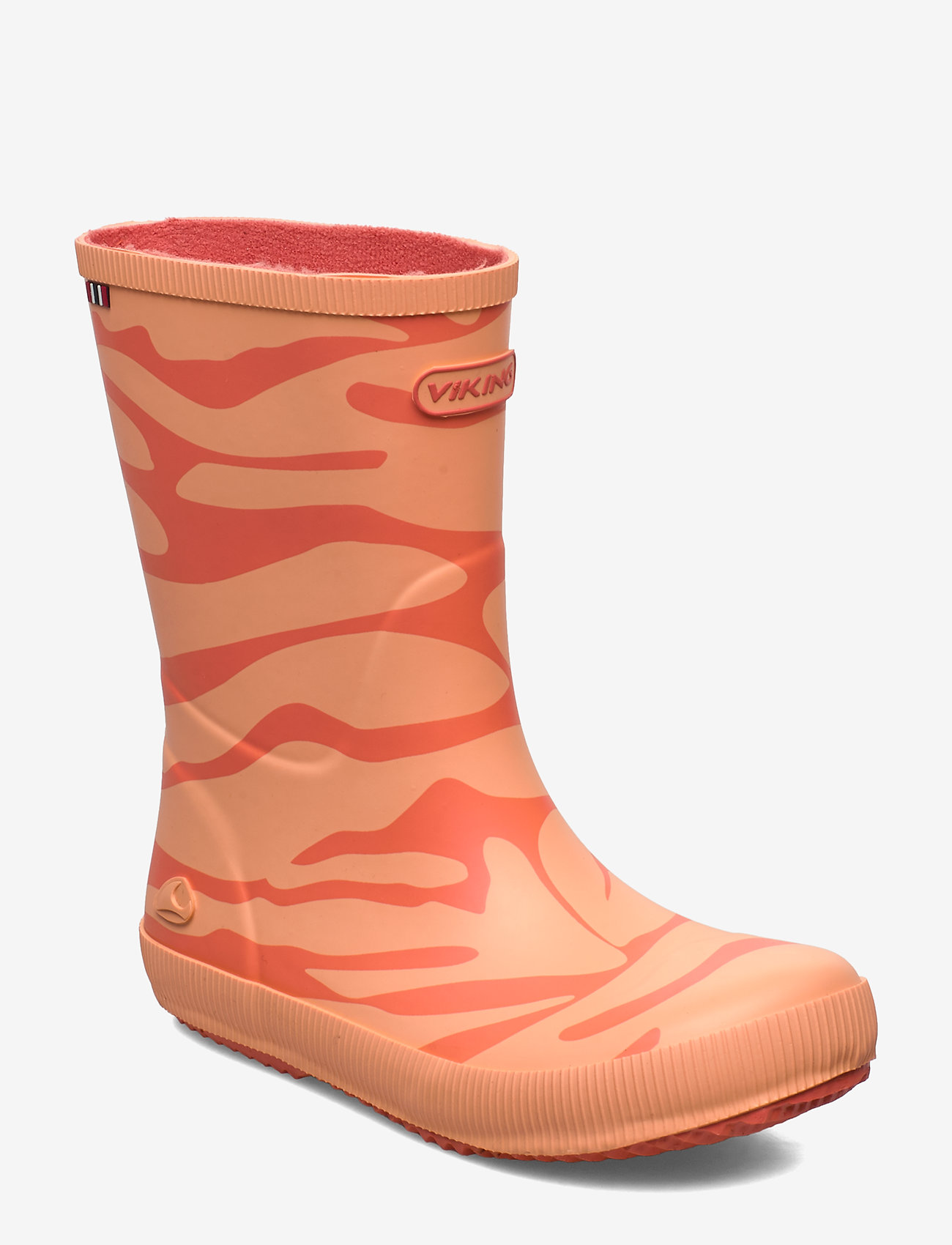 Viking - Classic Indie Zebra - rubberboots - coral - 0