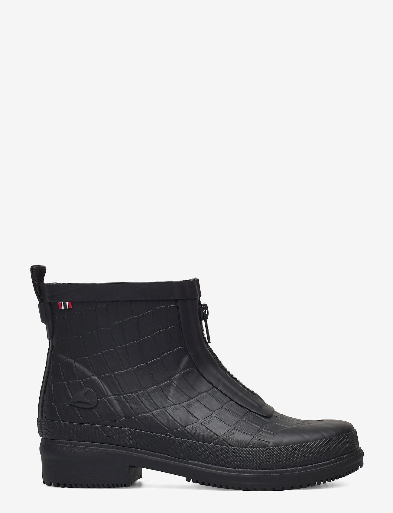 Viking - Gyda Croco Zipper - chaussures - black - 1