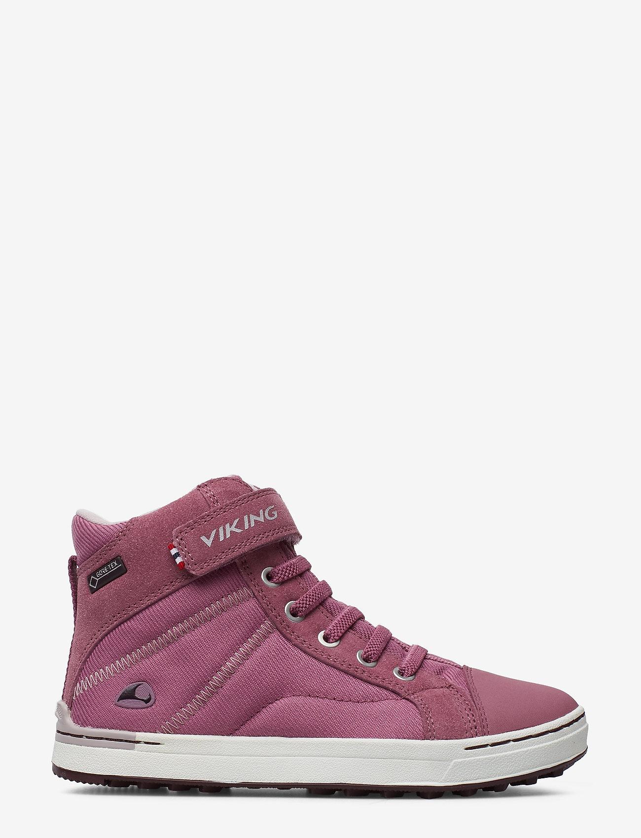 Viking Sagene Mid Gtx - Stövlar & Kängor Dark Pink/violet