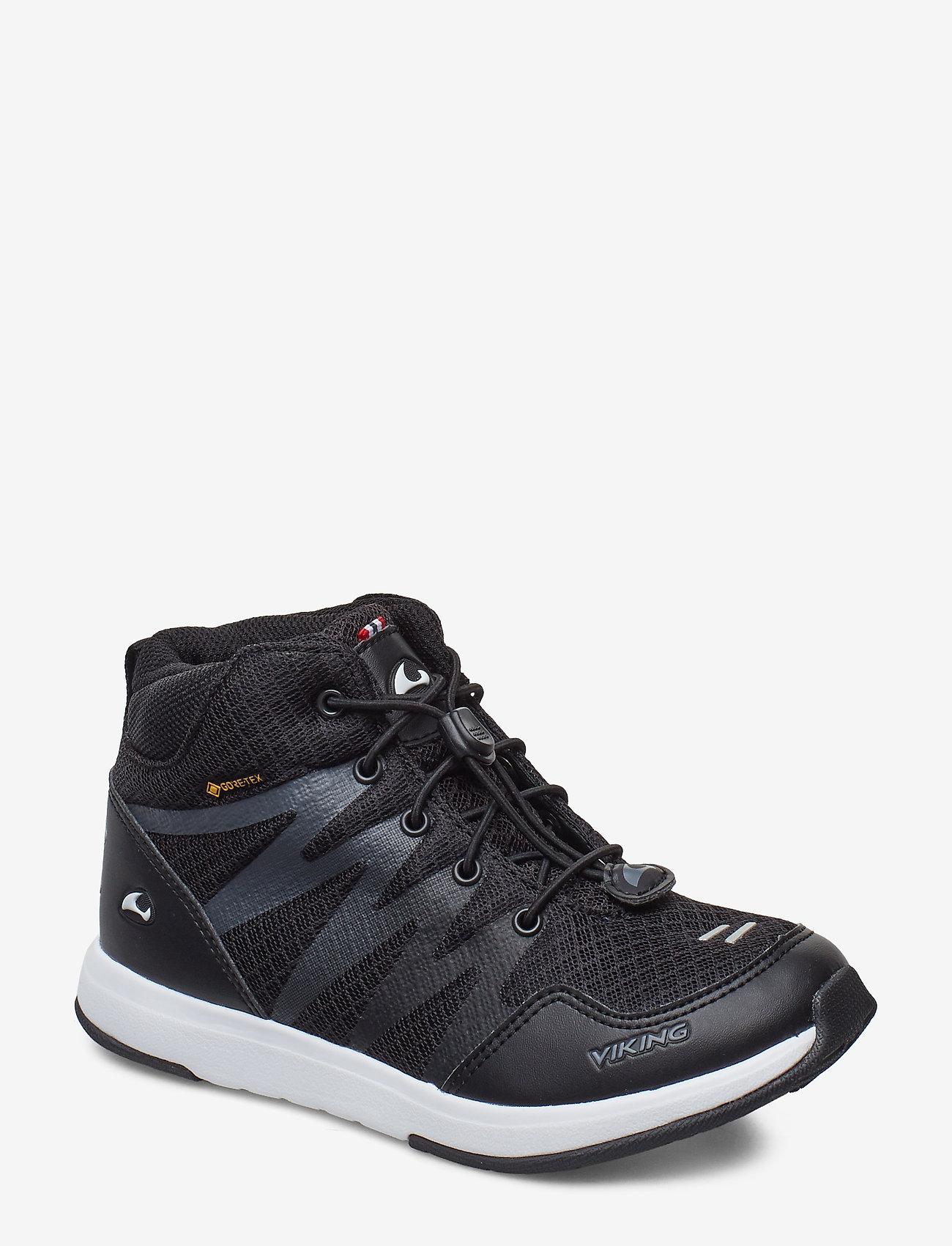 Viking - Bislett II Mid GTX - hoog sneakers - black/charcoal - 0