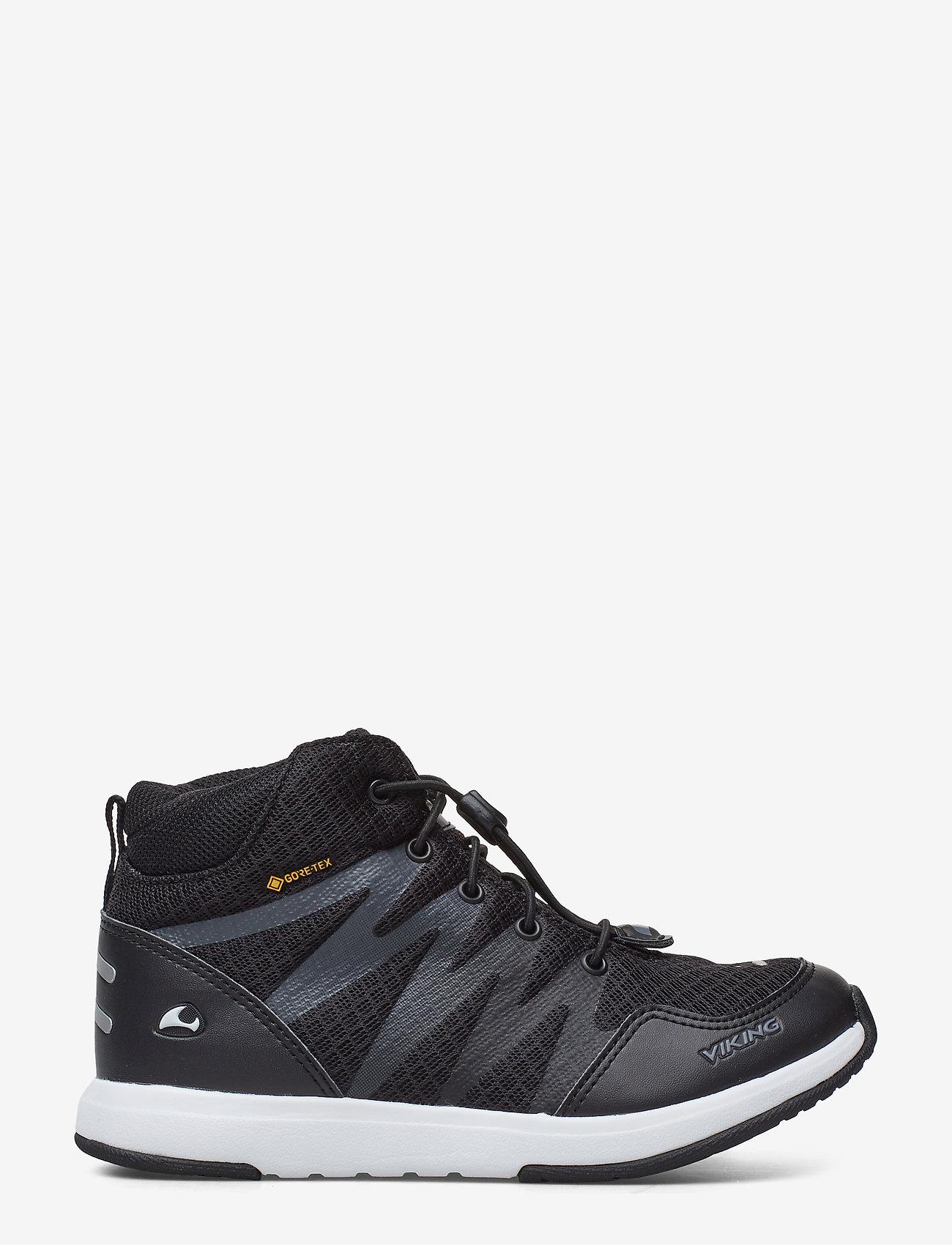 Viking - Bislett II Mid GTX - hoog sneakers - black/charcoal - 1