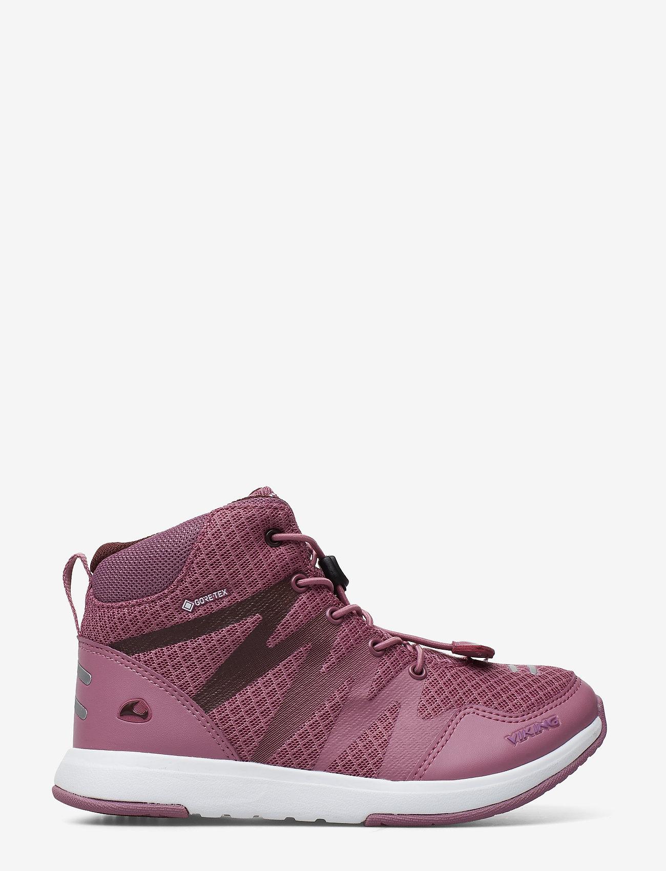 Viking - Bislett II Mid GTX - baskets - dark pink/violet