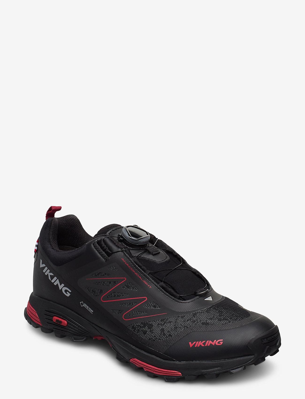 Viking - Anaconda Light Boa GTX - chaussures de course - black/silver - 0