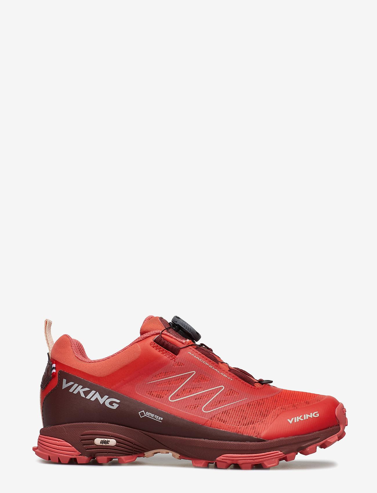 Viking - Anaconda Light Boa GTX - running shoes - dk.pink/bordeaux - 1