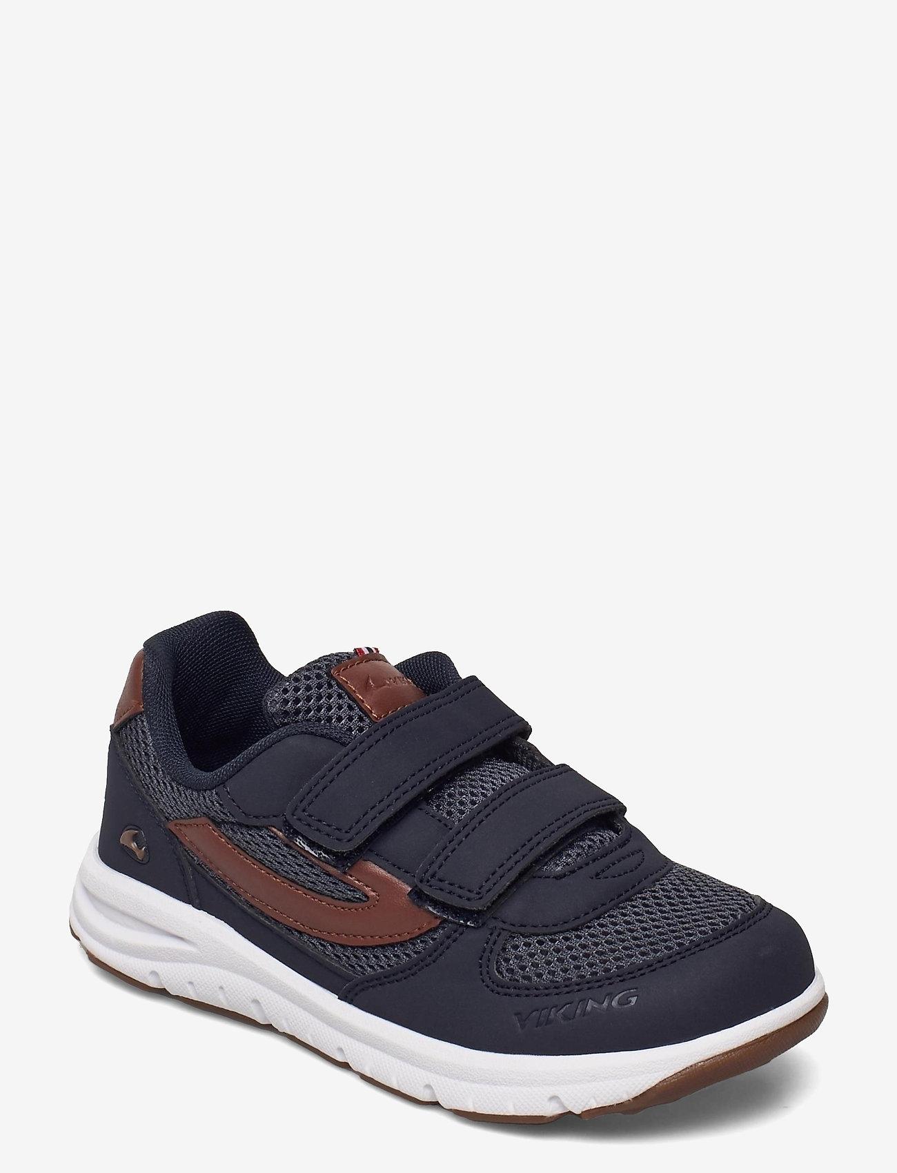 Viking - HOVET - low-top sneakers - navy/cognac - 0