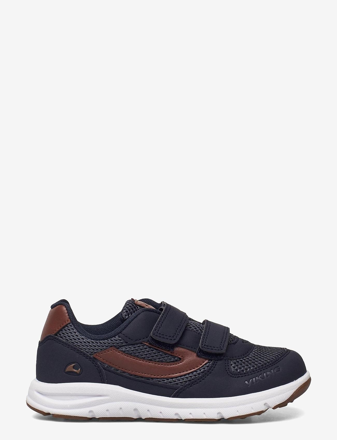 Viking - HOVET - low-top sneakers - navy/cognac - 1