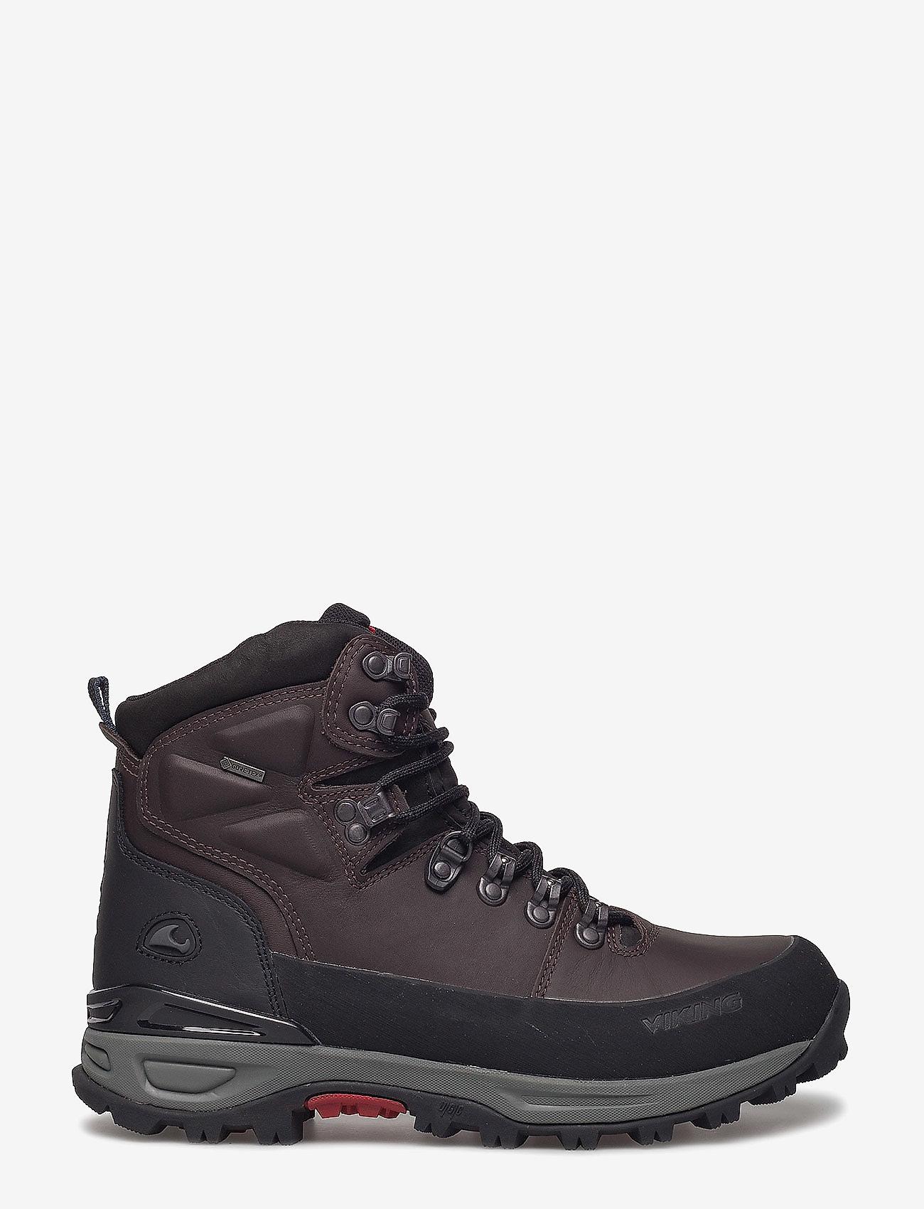 Viking - Gaupe Leather GTX - vaelluskengät - brown/black