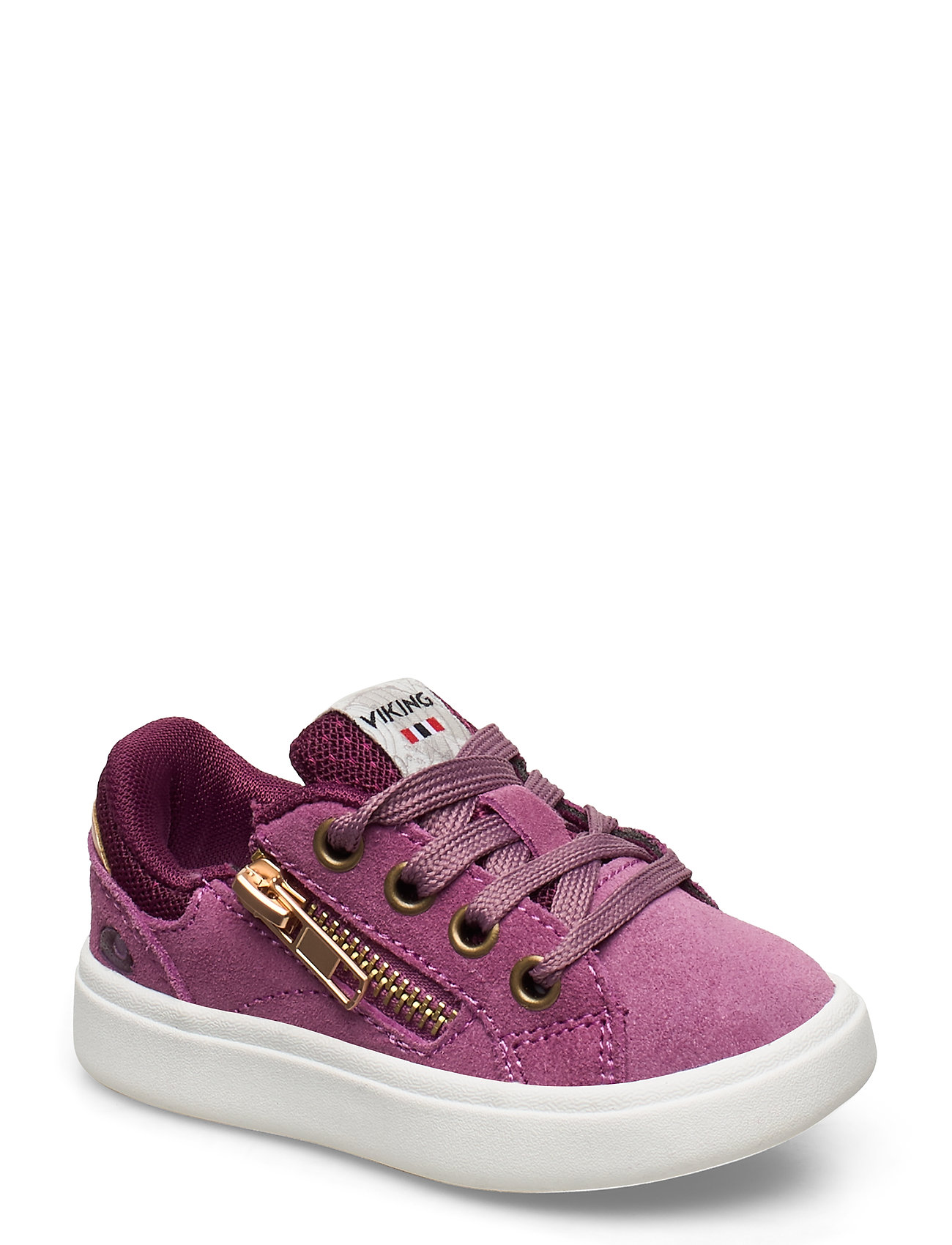 Image of Eve Low Zip Low-top Sneakers Lilla Viking (3379843233)