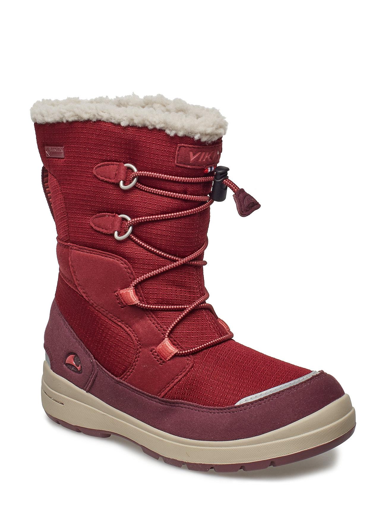 Viking Totak Gtx Vinterstøvletter Med Snøring Rød Viking