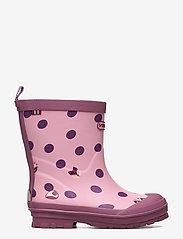 Viking - Hidden Animals - unlined rubberboots - pink - 1