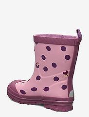 Viking - Hidden Animals - unlined rubberboots - pink - 2