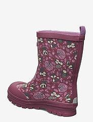 Viking - Jolly Woodland - unlined rubberboots - dark pink/multi - 2