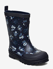 Viking - Jolly Woodland - unlined rubberboots - navy/multi - 0
