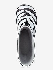 Viking - Classic Indie Zebra - kalosze - black/white - 2