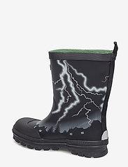 Viking - Lyn - gummistøvler - black/green - 2