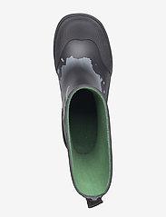 Viking - Lyn - gummistøvler - black/green - 3
