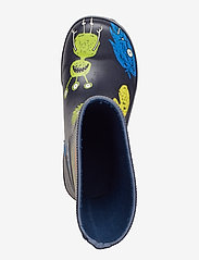 Viking - CLASSIC INDIE MONSTERS - unlined rubberboots - navy/lime - 3