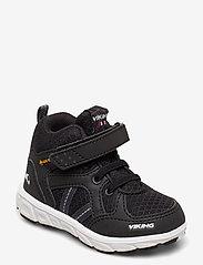 Viking - Alvdal Mid R GTX - tenisówki - black/charcoal - 0