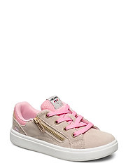 Eve Low Zip - BEIGE/PINK
