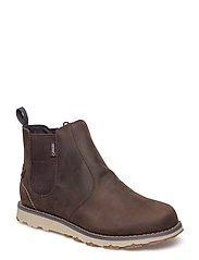 Hervor W GTX - DARK BROWN/DARK BLUE