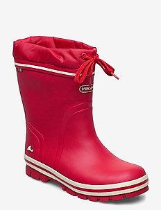 New Splash Winter - rubberboots - red