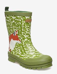 Jolly Big Fox - gummistövlar - green/multi