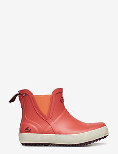 Stavern Jr - unlined rubberboots - coral