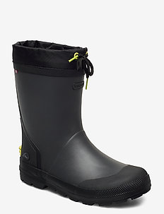 Slagbjorn Thermo Jr - bottes en chaouthouc - dark grey/multi