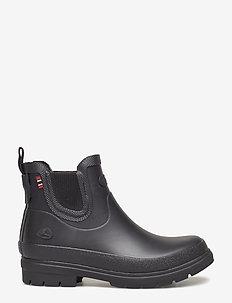 Ada Jr. - uforede gummistøvler - black