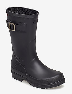 Vendela Jr - gummistiefel - black