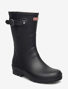 HEDDA - buty na wędrówki - black