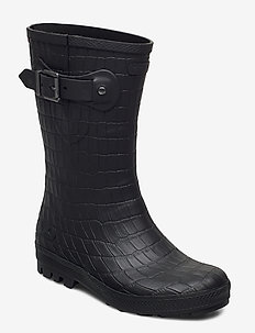 Hedda Croco - buty - black