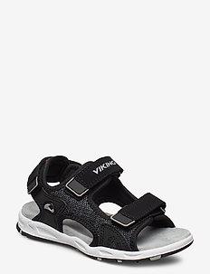 Anchor - sandales - black/grey