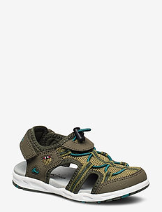 Thrill - sandals - olive/huntinggreen