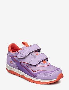 Evanger Low GTX - tenisówki - lavender/coral