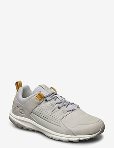 Myk W - wandelschoenen - light grey/mustard