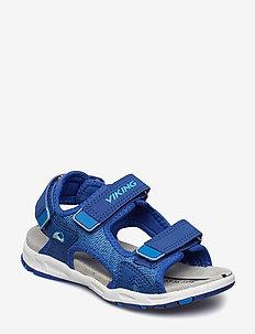 Anchor II - sandals - dark blue/blue