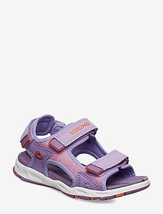 Anchor II - sandals - lavender/coral