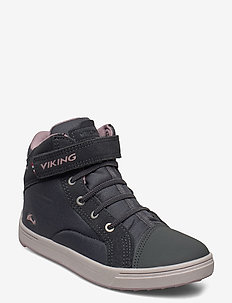 Leah Mid GTX - high tops - dark grey/dusty pink