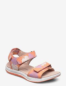 Helle Print - sandales - coral