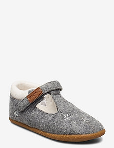 Mime - slippers - grey