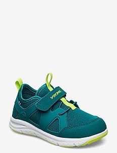 Moholt - sneakers - petrol/green