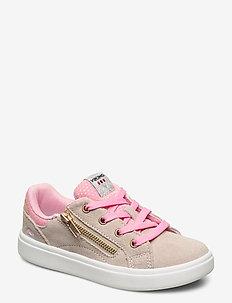 Eve Low Zip - sneakers - beige/pink