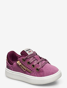 Eve Low Zip - sneakers - violet/bordeaux