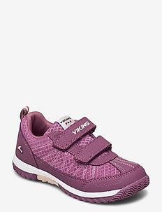Bryne - lave sneakers - bordeaux/violet