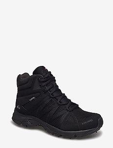Komfort Mid Spikes GTX W - winter boots - black