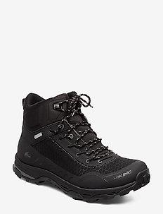 Rask GTX M - buty na wędrówki - black/charcoal